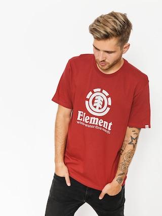 Element T-shirt Vertical (brick red)