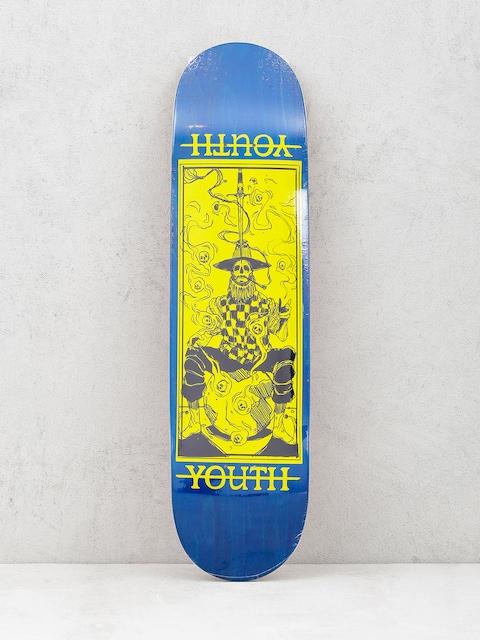 Youth Skateboards Deck Prestidigitator (navy/yellow)