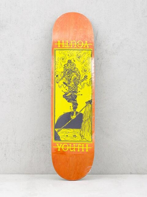 Youth Skateboards Deck Bateleur (orange/yellow)