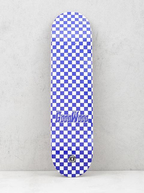 Goodwood Deck Checker (blue/white)