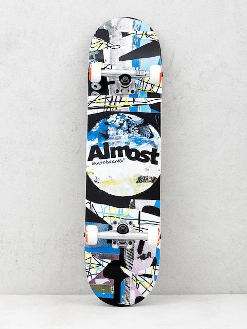 Almost Skateboard Distressed (black)