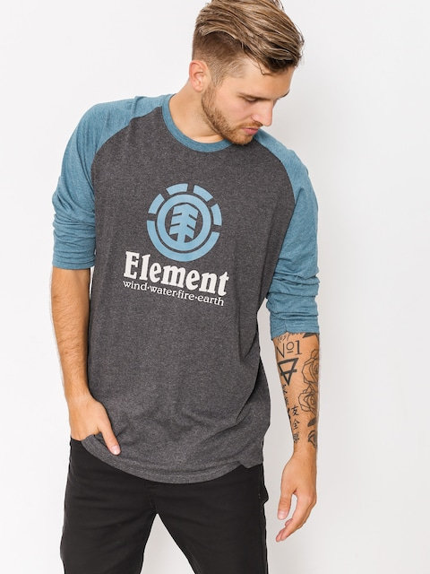 Element T-shirt Vertical Raglan (charcoal heather)