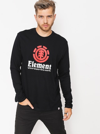 Element Longsleeve Vertical (flint black)