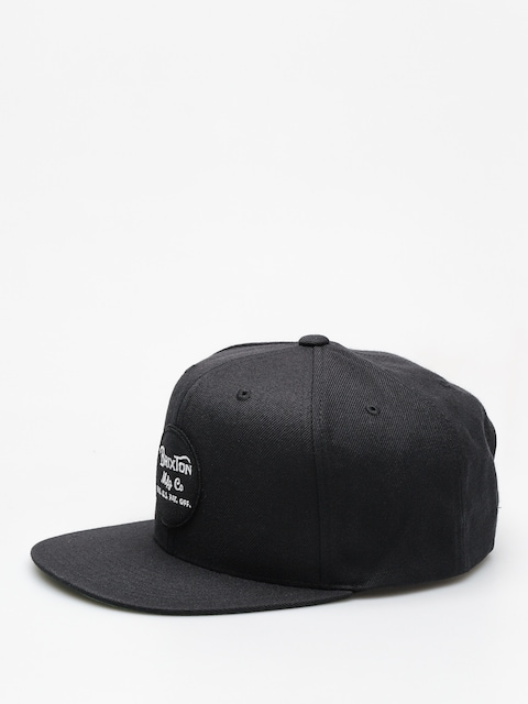 Brixton Cap Wheeler Snapback ZD (black)