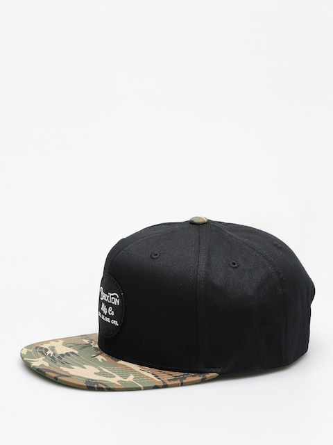 Brixton Cap Wheeler Snapback ZD (black/camo)
