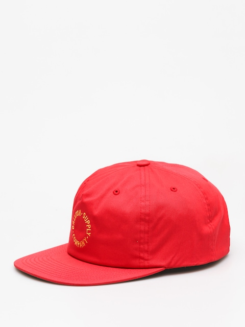 Brixton Cap Feature Mp Snbk ZD (red)