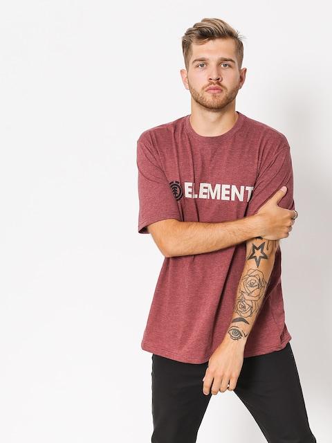Element T-shirt Blazin (oxblood heather)