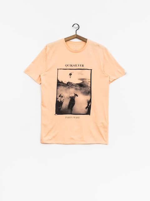 Quiksilver T-shirt Wave Party (peach parfait)