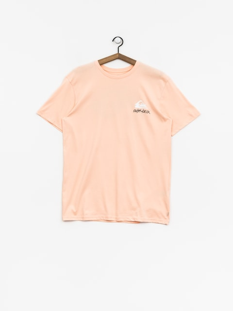 Quiksilver T-shirt Good Badss (peach parfait)