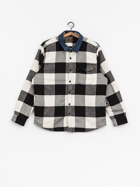 Levi's Shirt Quilted Mason (manatee bright white)
