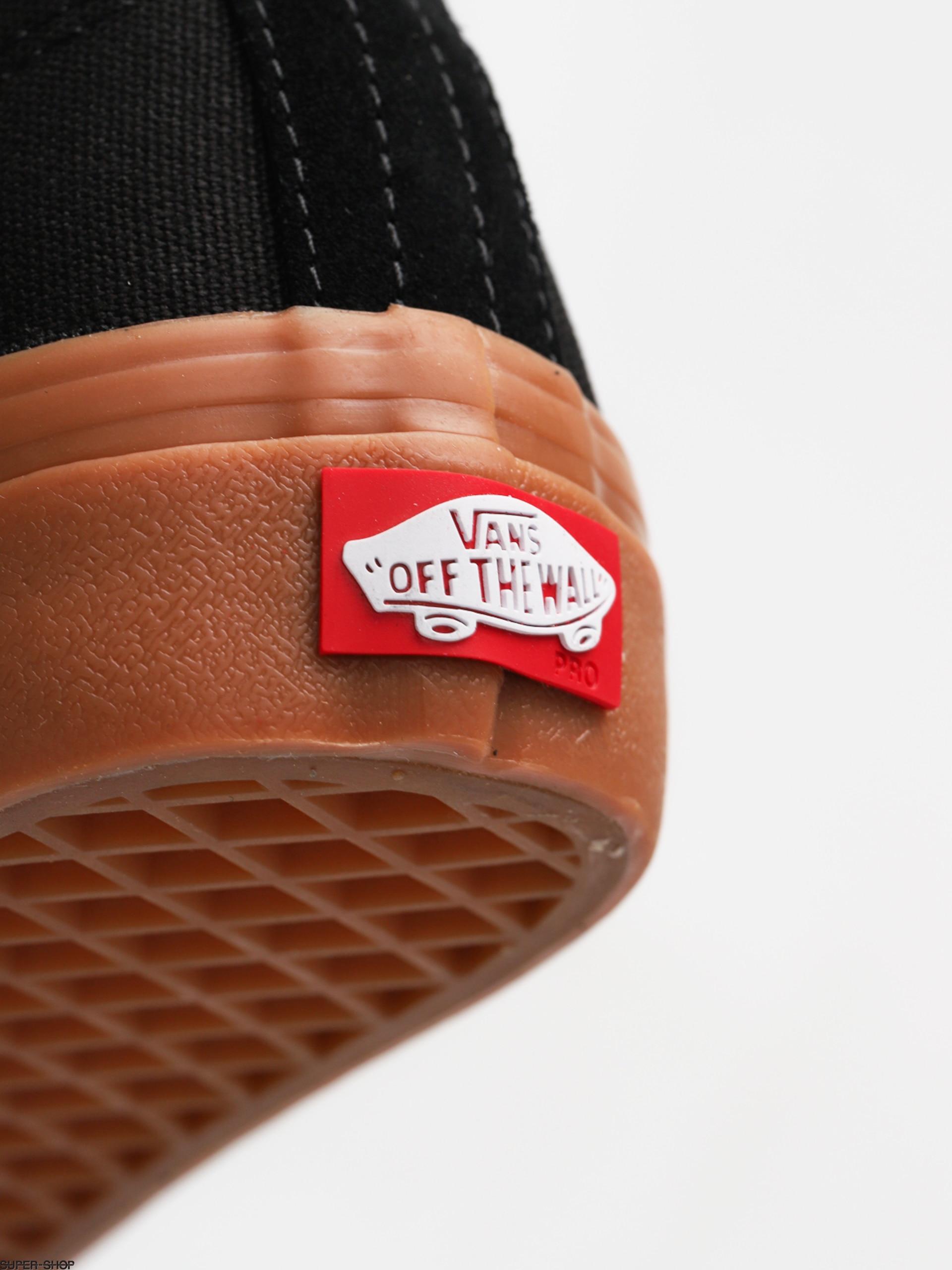 cc6e3fa340 Vans Shoes Authentic Pro (black classic gum)