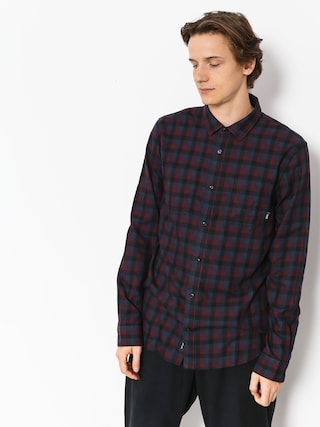 Vans Shirt Alameda II (black/port royale)