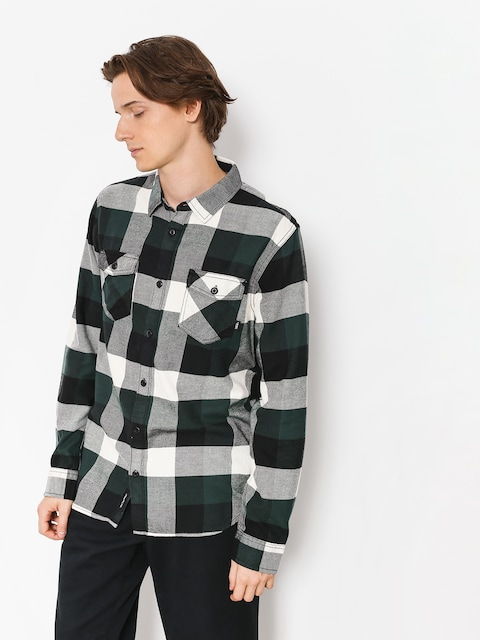 Vans Shirt Box Flannel (darkest spruce/natural)