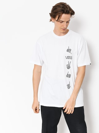 Vans T-shirt Boneyard (white)