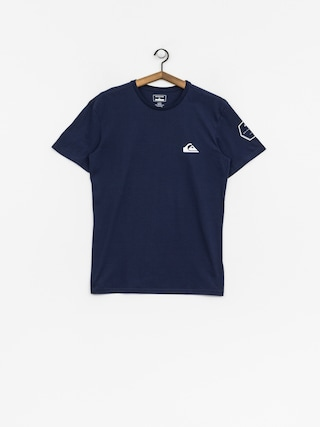 Quiksilver T-Shirt Solid Left (medieval blue)