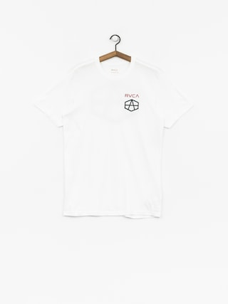 RVCA T-Shirt Reynolds Hex (white)