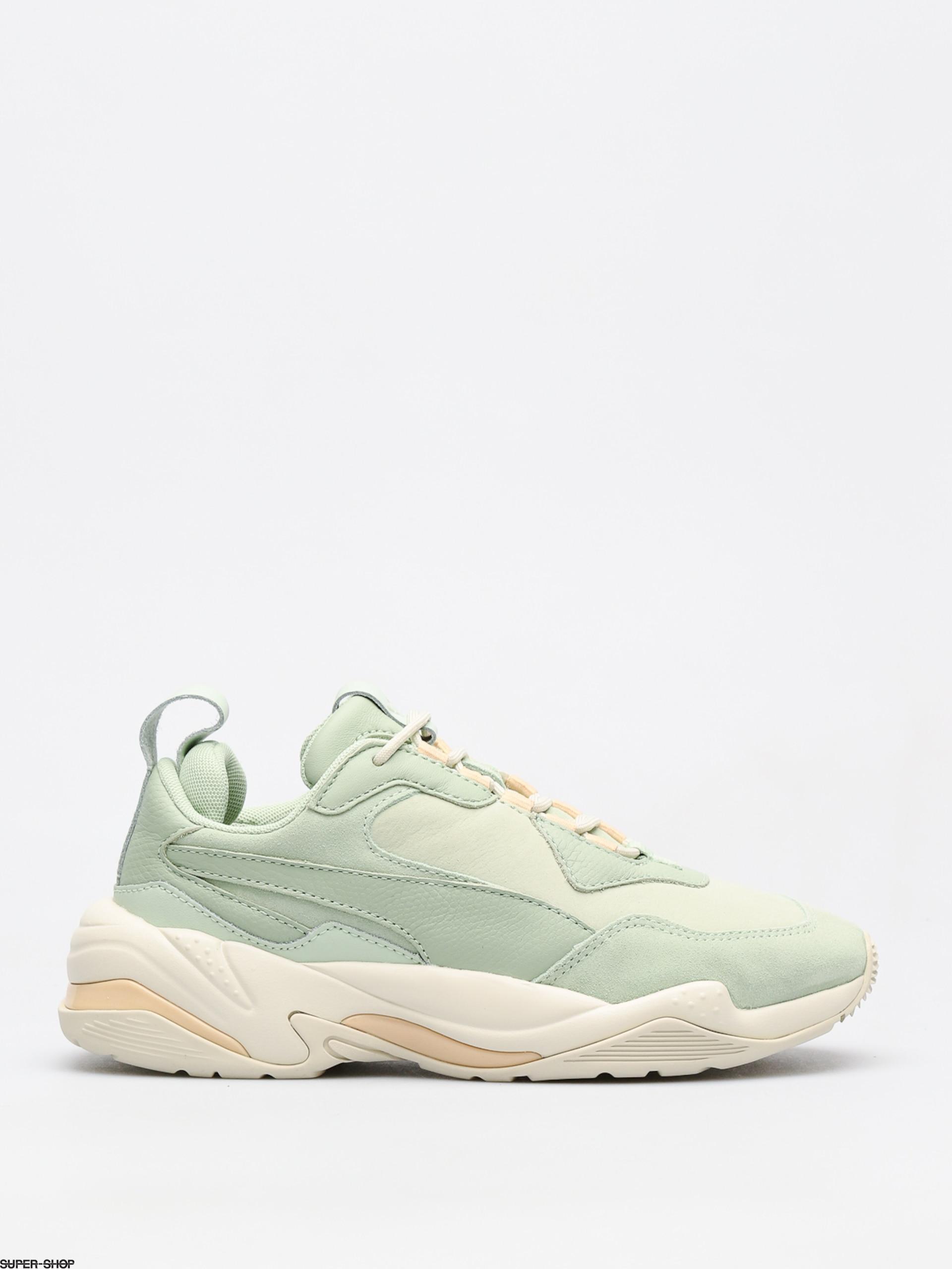 Puma Shoes Thunder Desert Wmn (smoke green/silver g)