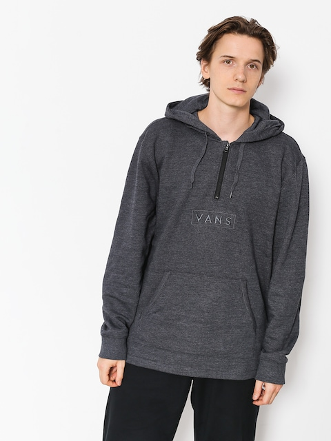 Vans Sweatshirt Easy Box Qtr Zip (black heather)