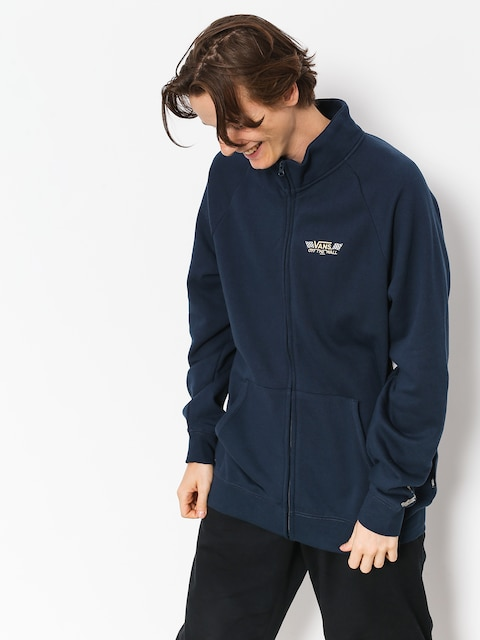 Vans Sweatshirt Crossed Sticks Track Jacket (dress blues)