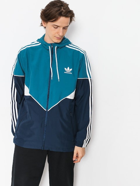 adidas Jacket Premiere Wndbr (real teal s18/collegiate navy/white)
