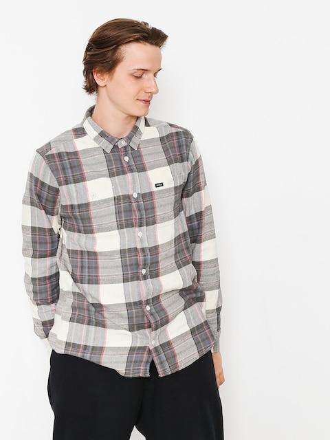 RVCA Shirt Ludlow Flannel Ls (silver bleach)