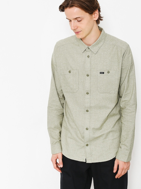 RVCA Shirt Twisted Ls (burnt olive)
