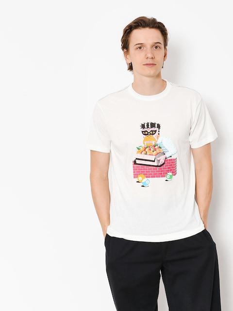 RVCA T-shirt Lp Gorilla (antique white)