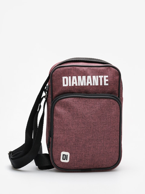 Diamante Wear Bag White Logo (burgundy jeans)