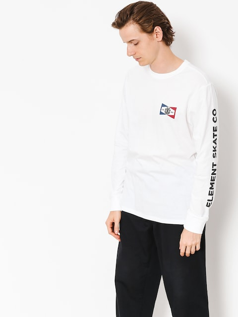 Element Longsleeve Segment (optic white)