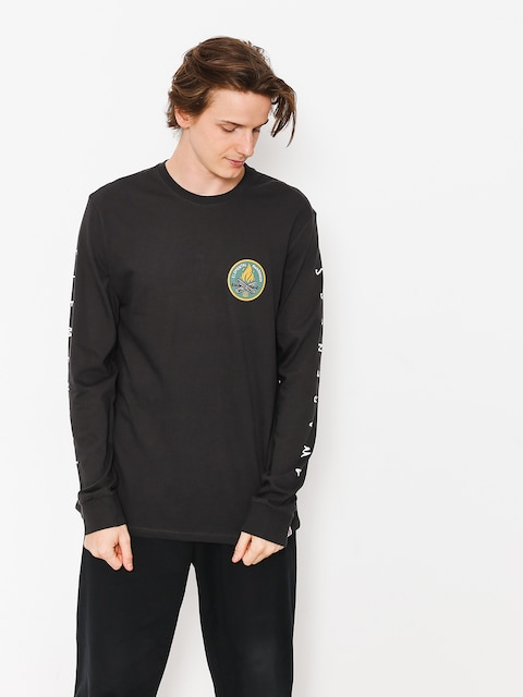 Element Longsleeve Ea Logo (off black)