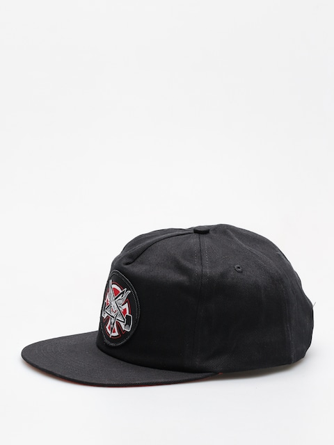 Independent x Thrasher Cap Pentagram Cross Adj Snapback ZD (black)