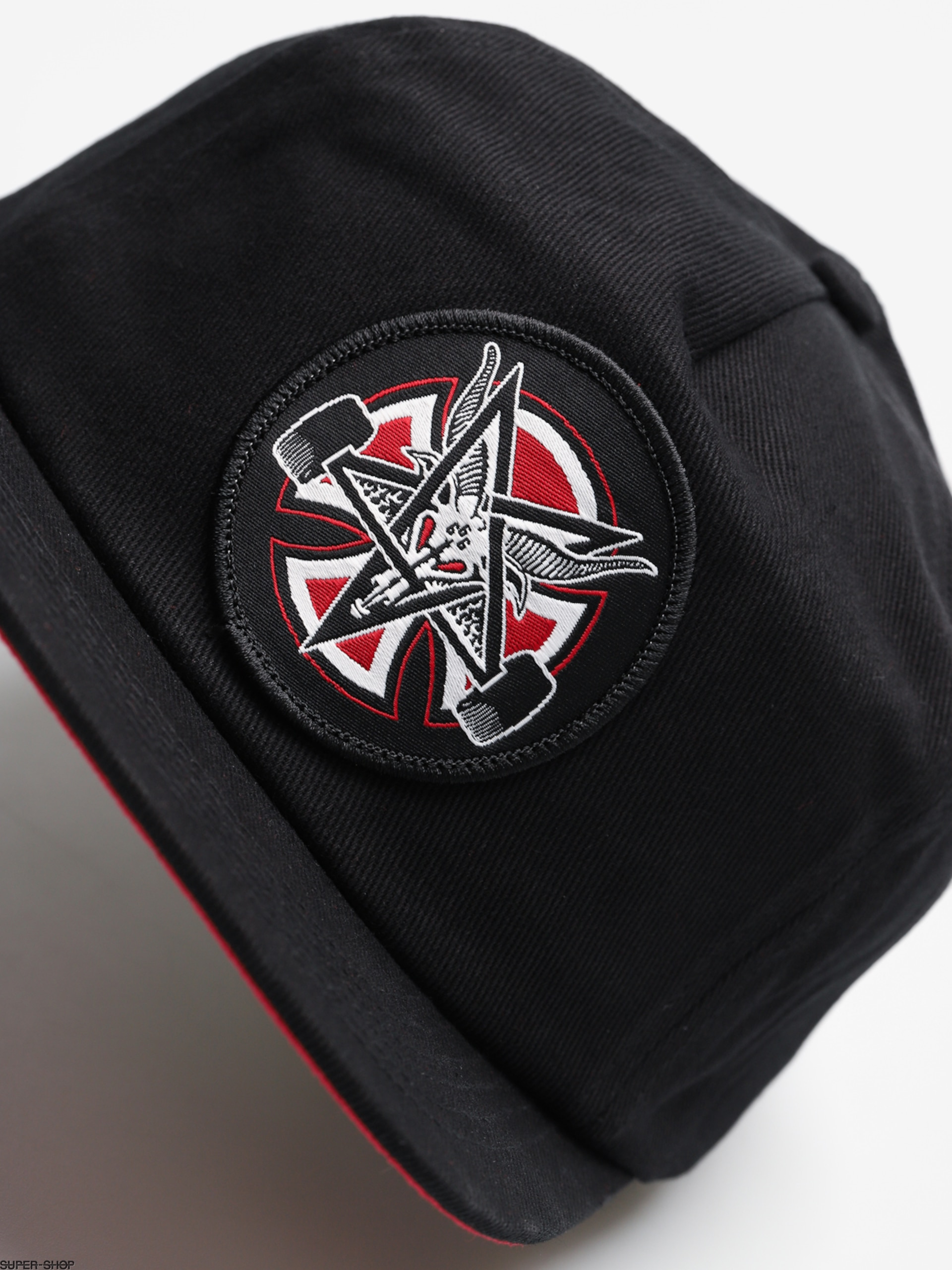 Independent x Thrasher Cap Pentagram Cross Adj Snapback ZD (black) aeb55ec52deb