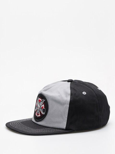 Independent Cap Thrasher Pentagram Cross Adj Snapback ZD (grey/black)