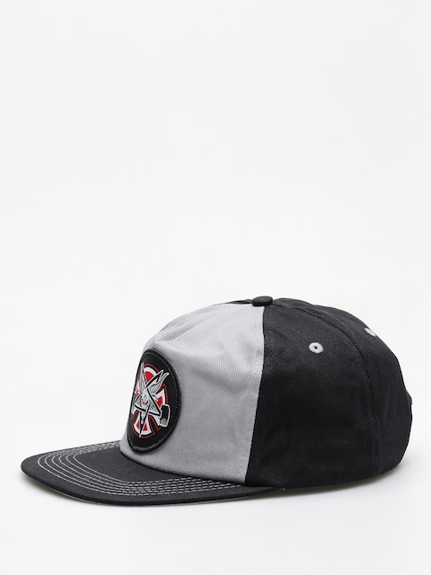 Independent x Thrasher Cap Pentagram Cross Adj Snapback ZD (grey/black)