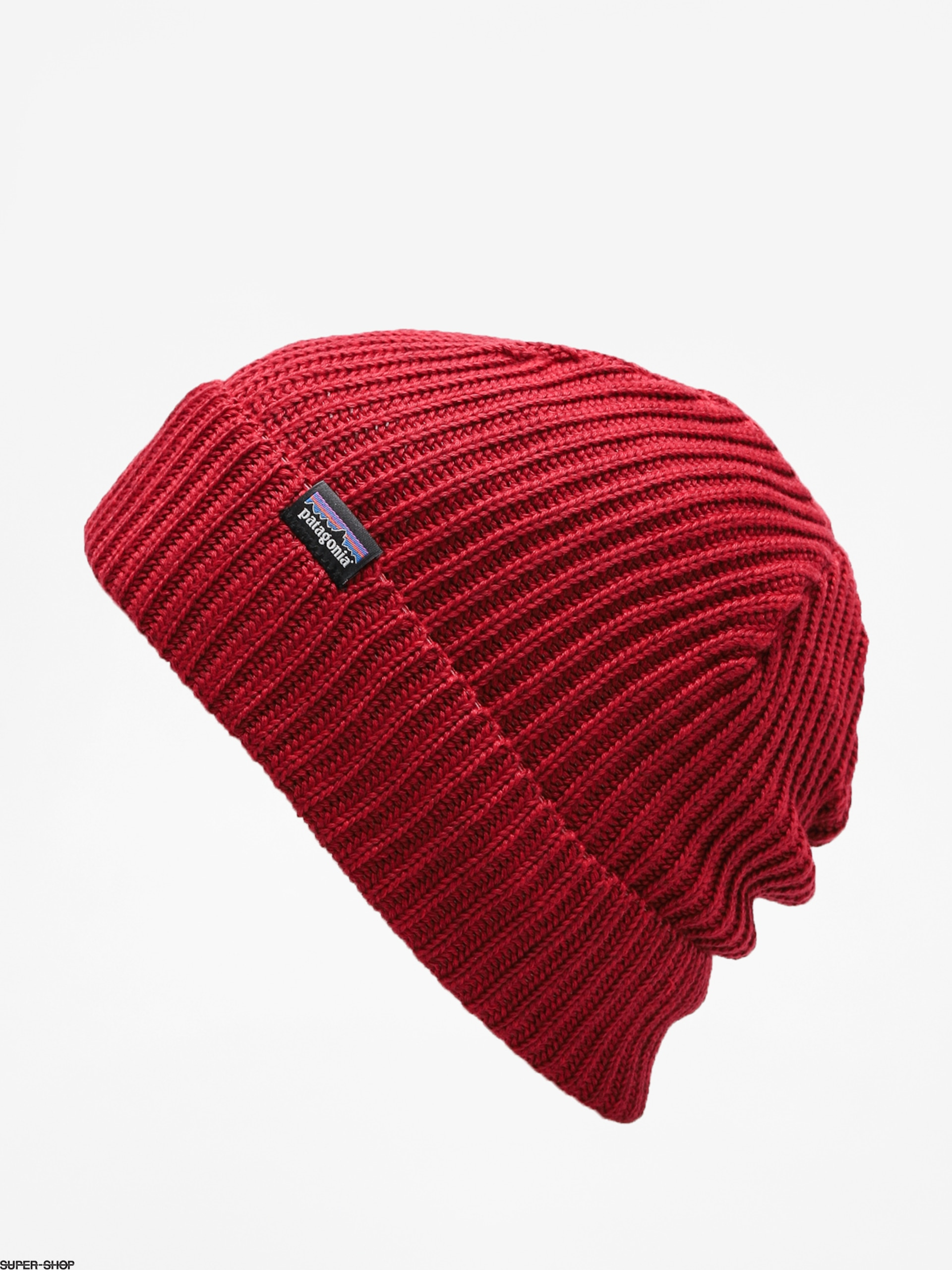 b5ea4fabe81 Patagonia Beanie Fishermans Rolled Beanie (oxide red)