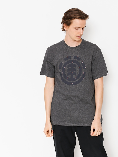Element T-shirt Explorer Logo (charcoal heather)
