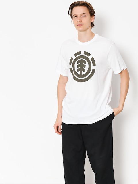 Element T-shirt Explorer Logo (optic white)
