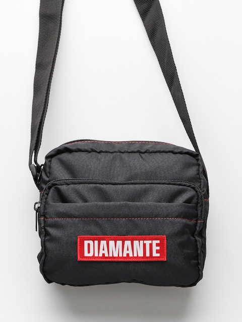 Diamante Wear Tasche Rip Red Logo (black)