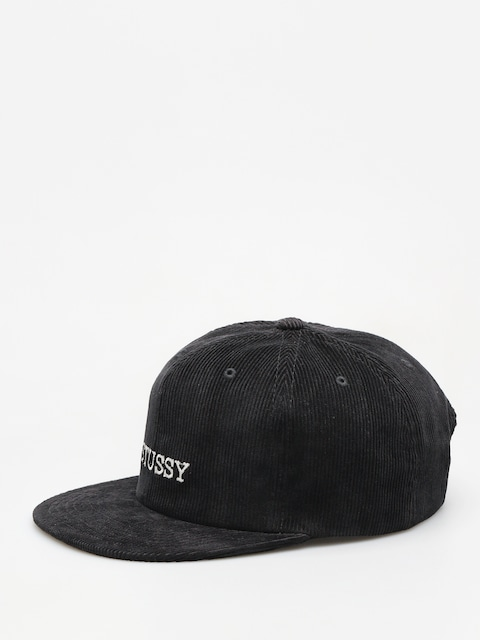 Stussy Cap Washed Cord HD (black)