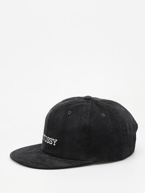 Stussy Cap Washed Cord HD (black)
