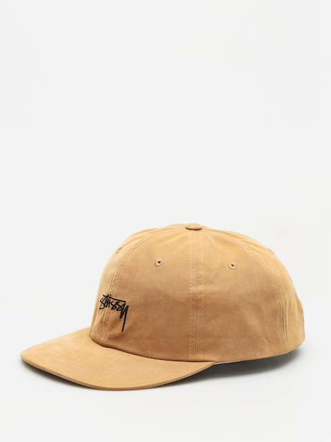 Stussy Cap Peached Smooth Stock Low Pro (camel)
