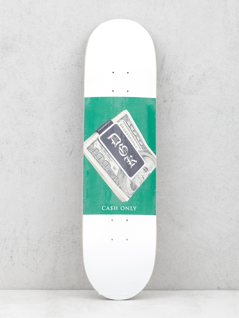 DGK Deck Cash Only (white/green)