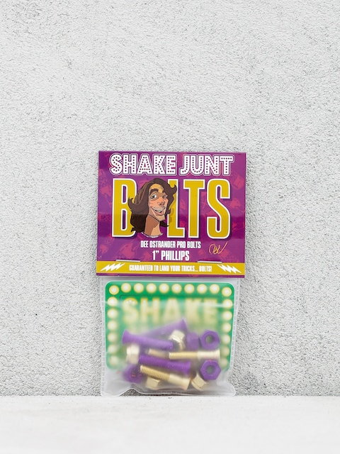 Shake Junt Bolts Dee Ostrander Phillips (purple/gold)