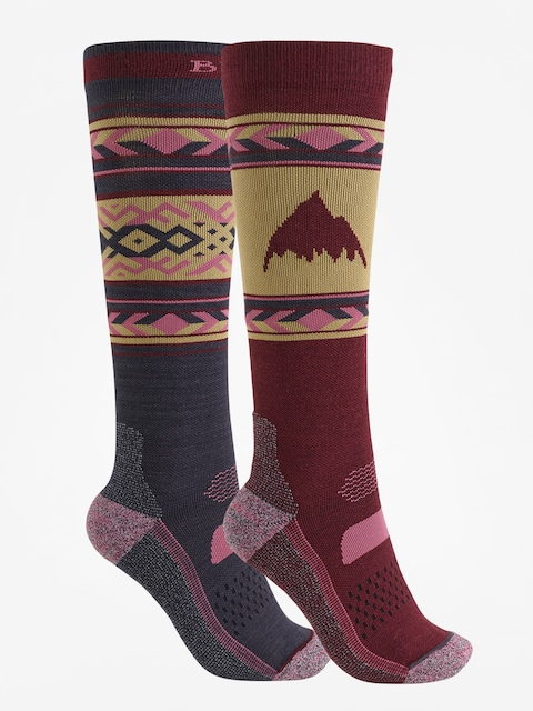 Burton Socks Performance Lightweight 2pk Wmn (port royal)