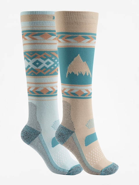 Burton Socks Performance Lightweight 2Pk Wmn (abyss)