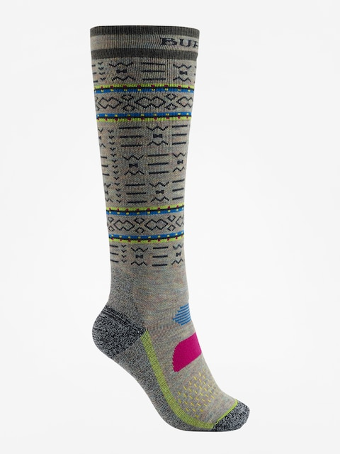 Burton Socken Party Wmn (oatmeal heather)