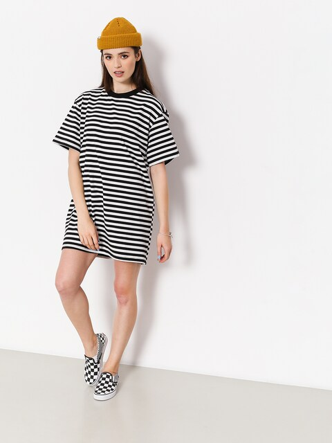 The Hive Dress Stripe Dress Wmn (black/white)