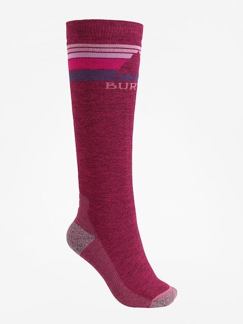 Burton Socks Emblem Midweight Wmn (sangria)