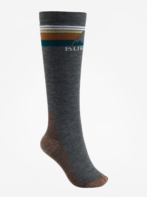 Burton Socks Emblem Midweight Wmn (true black)