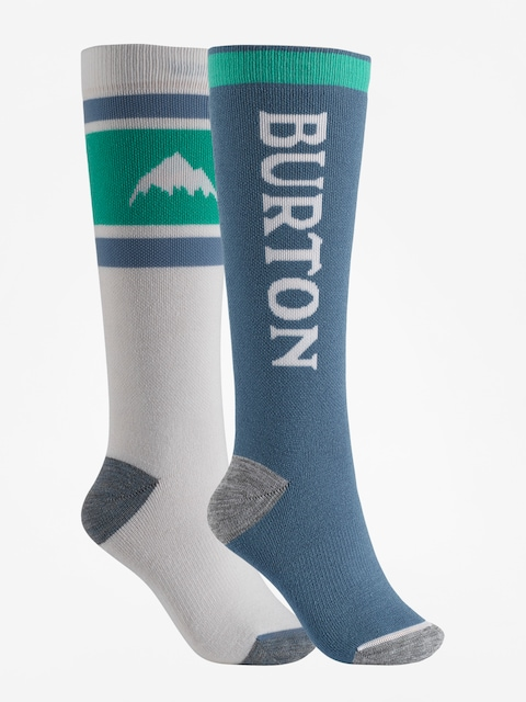 Burton Socks Weekend Midweight 2Pk Wmn (stout white)